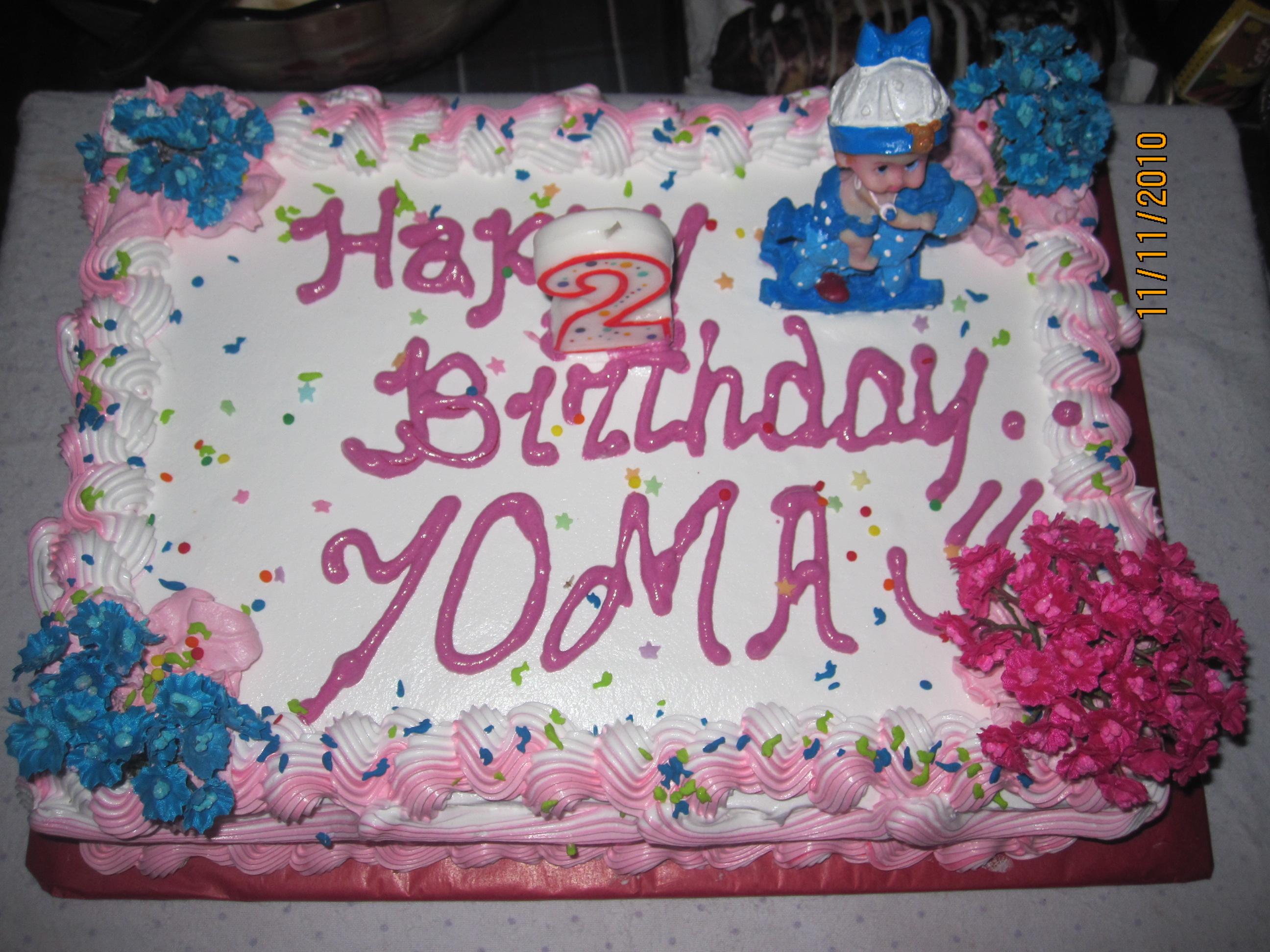Yoma s 2nd birthday ZoWanderer.com